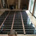 鹿児島市の住宅で、エコクリーンホット《床暖房》の工事がありました。