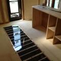 鹿児島県姶良市の新築住宅で、エコクリーンホット床暖房の工事がありました。