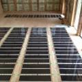 鹿児島市の新築住宅で、エコクリーンホット 床暖房の工事がありました。