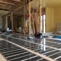 鹿児島市の新築住宅にエコクリーンホット床暖房を導入していただきました。