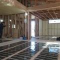鹿児島市川上町の新築住宅に、エコクリーンホット床暖房を導入していただきました。