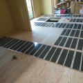 鹿児島市岡之原町の新築住宅に、エコクリーンホット床暖房を導入していただきました。